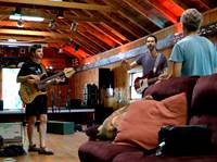 Rehealsal with Paul Giblert (The Great Guitar Escape 2013)
