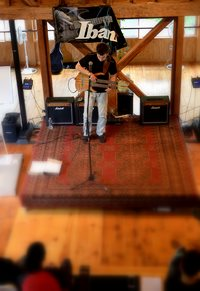 The Paul GIlbert's Great Guitar Escape - workshops day 1 (U.S.A.)