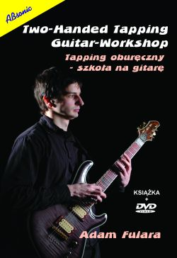 Two-handed tapping. Guitar workshop