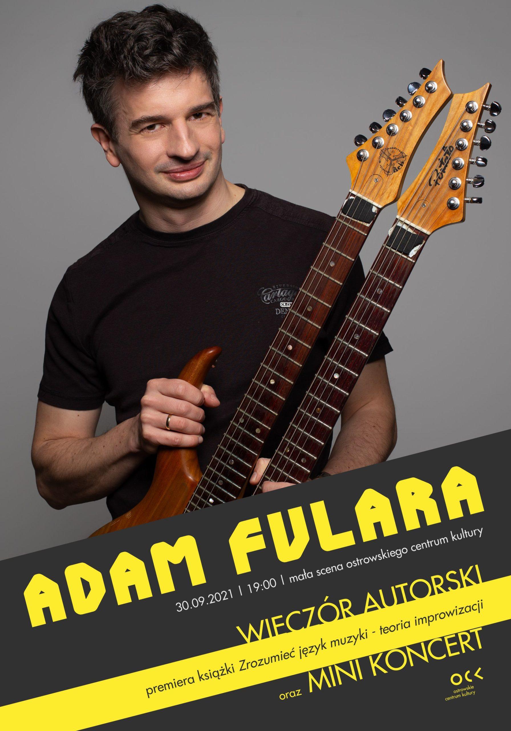 Adama Fulara gig in Ostrowskie Centrum Kultury - mała scena