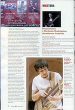 """Relacja z Festiwalu Gitarowego w Meksyku - """"Gitarzysta"""" 9/2008"""