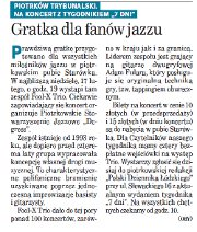 "Gigs of Fool-X trio in Piotrkow Trybunalski, review, Polish language (""7 Dni"", Feb 15, 2008)"