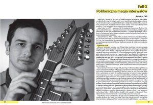 """Full-X. Counterpoint and the magic of intervals"" - Regional Chronicle Book, 2013. Whole chronicle text online: www.wieza1916.pl"