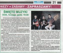 Święto Muzyki  - Czas Ostrzeszowski - 10.05.2017
