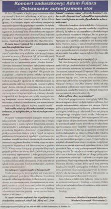 """""""Ostrzeszów Autentyzmem Stoi"""" - rozmowa z Wiesławem Kaczmarkiem - Nasze Strony Ostrzeszowskie (10.11.2015)"""