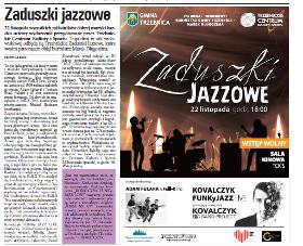 "All Souls' Day Jazz Festival 2013, Trzebnica, ""Panorama Trzebnicka"" November 2013, (Polish language)"