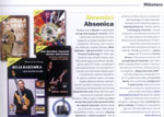 "New workshop book + DVD of Adam Fulara ""Two-handed tapping - guitar workshop"" (ABSONIC 2009), press ""Gitarzysta"" (Polish, October 2009)"