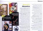 """Nowa książka + DVD Adama Fulary pt. """"Tapping oburęczny - szkoła na gitarę"""" (ABSONIC 2009), zapowiedź wydawnicza w """"Gitarzyście"""" (10.2009)."""