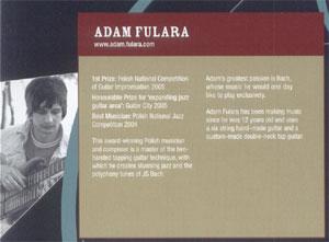 Ards International Guitar Festival 2006 (Irlandia Północna) - presspackage (13.10.2006). Język angielski.