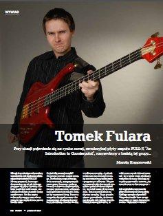 "Interview with Tom Fulara at the ""Bass Player"" (Polish ed.) Magazine. Polish langugage. Basista 2013/10"