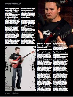 "Interview with Tom Fulara at the ""Bass Player"" (Polish ed.) Magazine. Polish langugage. Basista 2013/10"