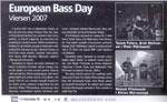 """Euro Bass Day w Niemczech (Viersen 2007) z udziałem Tomka Fulary -  """"TopGuitar"""" 3/2008"""