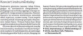 """Koncerty w Łodzi i Pabianicach w czasie trasy koncertowej 2008. """"Dziennik Łódzki"""", luty 2008"""