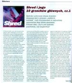 """wrzesień 2010 - """"10 grzechów shreddingu"""" (cz. 1)"""