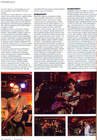 "Relacja z The Paul Gilbert's Great Guitar Escape 2013 (Big Indian, Nowy Jork, U.S.A) w ""Gitarzyście"" (09/2013)"