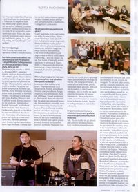 Bass Days Poland 2013 review. Full-X, Yolanda Charles, Igor Saavedra Valenzuela, Pilichowski i in. Bass Player  Polish ed. 12/2013 (Polish language).
