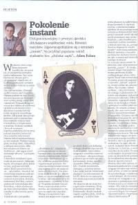"""październik 2014 - """"Pokolenie instant"""""""