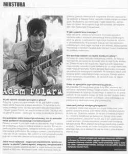 "Interview in ""Guitar player"" (Polish ed.)"