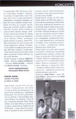 """Koncert Fool-X w Gliwicach w czasie trasy koncertowej 2008. """"Gliwicki Magazyn Kulturalny"""", luty 2008"""