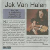 """""""Jak Van Halen"""" - Głos Wielkopolski, 2003"""