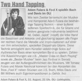 Stadtmagazin DATES (August 2006)