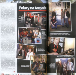 Interview of MusikMesse 2007 (Frankfurt) - ''TopGuitar'' (May, June 2007)