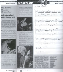 Review of the Ards International Guitar Festival in ''TopGuitar'' (May, June 2007)